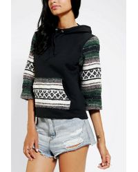 Urban Outfitters - Blue Urban Renewal Baja Sweatshirt - Lyst