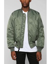 Urban Outfitters Alpha Industries Ma1 Bomber Jacket In