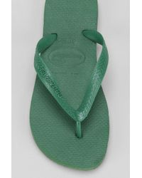Urban Outfitters - Green Havaianas Top Thong Sandal for Men - Lyst