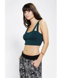 Urban Outfitters - Green Out From Under Double Strap Bra Top - Lyst
