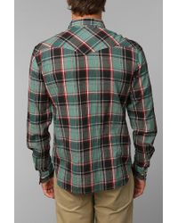 Urban Outfitters - Green Salt Valley Cassidy Western Shirt for Men - Lyst