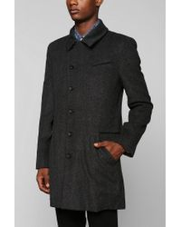 Urban Outfitters | Gray D Collection D Topcoat for Men | Lyst