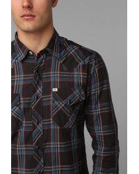 Urban Outfitters - Gray Salt Valley Manhattan Plaid Western for Men - Lyst