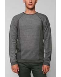 Urban Outfitters | Gray The Narrows Side Panel Pullover Sweatshirt for Men | Lyst