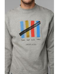 Urban Outfitters | Gray Undefeated Tsbsu Pullover Sweatshirt for Men | Lyst