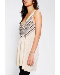 Urban Outfitters - Natural Ecote Tino Tank Top - Lyst