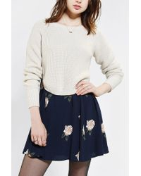 Urban Outfitters | Natural Kimchi Blue Ballet Super Cropped Sweater | Lyst