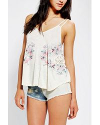 Urban Outfitters | White Kimchi Blue Sneaky Peek Cami | Lyst