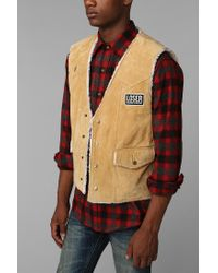 Urban Outfitters. Men's Natural Loser Machine Hudson Vest
