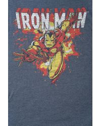 Urban Outfitters - Blue Junk Food Iron Man Tee for Men - Lyst