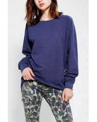 Urban Outfitters - Blue Sparkle Fade Pullover Tunic Sweatshirt - Lyst