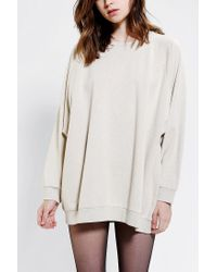 Urban Outfitters | Natural Oversized Dolman Pullover Sweatshirt | Lyst