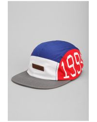 Urban Outfitters - Red Entree Unknown 5panel Hat for Men - Lyst