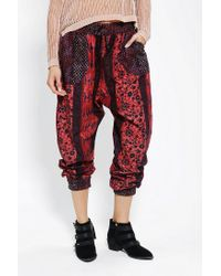 Urban Outfitters - Multicolor Staring At Stars Heroine Harem Pant - Lyst