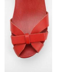 Urban Outfitters - Red Swedish Hasbeens Papillon Sandal - Lyst
