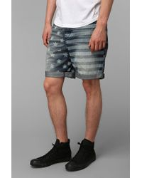 Urban Outfitters | Blue Standard Cloth Americana Short for Men | Lyst