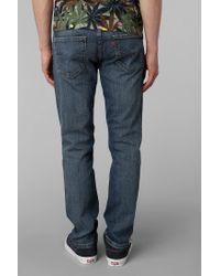 Urban Outfitters - Dusky Blues Skinny Jean for Men - Lyst