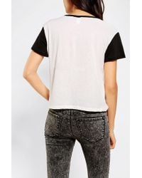 Urban Outfitters - Yellow Urban Outfitters New Baseball T-shirt - Lyst