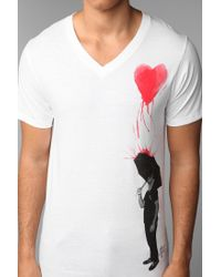 Urban Outfitters | White Profound Aesthetic Pouring Heart Tee for Men | Lyst