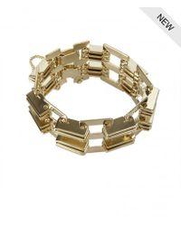 AllSaints | Metallic Memphis Bracelet | Lyst