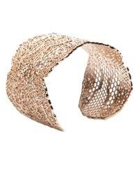 Aurelie Bidermann - Metallic Lace Cuff - Lyst