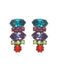 DANNIJO | Multicolor Tucan Earrings | Lyst