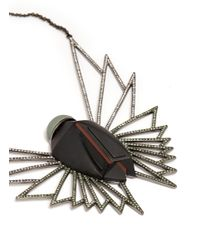 Eddie Borgo | Metallic Winged Scarab Necklace | Lyst