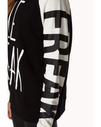 Forever 21 - Black Conversation-starting Le Freak Sweatshirt - Lyst