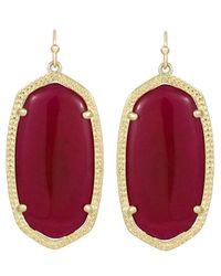 Kendra Scott | Red Elle Earrings Hot Pink | Lyst