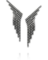 Maria Black - Metallic Snow and Snow Reverse Oxidized Silver Earrings - Lyst
