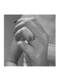 Monica Vinader - Metallic Mini Luna Ring - Lyst