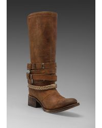 Steven by Steve Madden | Brown Freebird By Drover Boot in Tan | Lyst