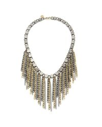 Wendy Mink | Metallic Mixed Metal Rolo Chain Necklace | Lyst