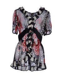 Dolce & Gabbana | Black Orange Blossom Print Tank Top | Lyst