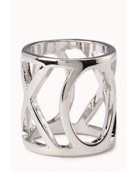 Forever 21 - Metallic Xo Cutout Ring - Lyst