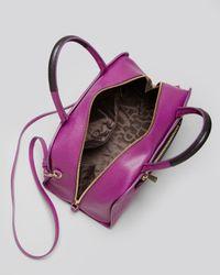 Furla - Purple Satchel Diamante - Lyst
