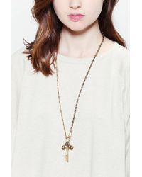 Urban Outfitters | Metallic Found Object Pendant | Lyst