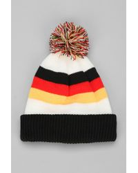 Urban Outfitters | Yellow Coal The Nations German Beanie for Men | Lyst