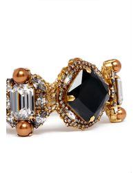 Erickson Beamon | Metallic Romanov Crystal Bracelet | Lyst