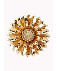 Forever 21 - Metallic Timeless Flower Studs - Lyst