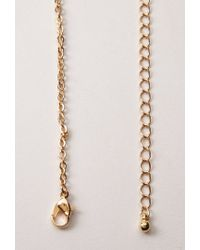 Forever 21 | Metallic Heart Necklace | Lyst
