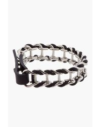 Lanvin | Metallic Silver Chain Bracelet for Men | Lyst