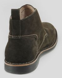 Andrew Marc - Green Dorchester Burnished Suede Chukka for Men - Lyst