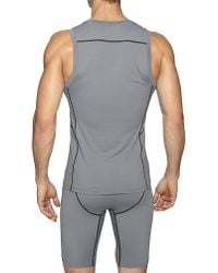 Calvin Klein | Gray Athletic Ergonomic Tank Top for Men | Lyst