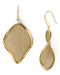 Adami & Martucci | Metallic Large Mesh Earrings | Lyst