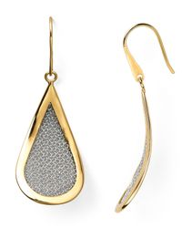 Adami & Martucci | Metallic Mesh Teardrop Earrings | Lyst