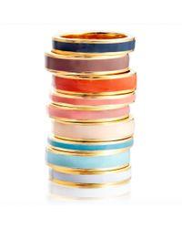 Astley Clarke | Vintage Blue Enamel Ring | Lyst