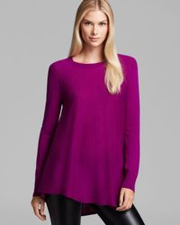 DKNY - Flared Scoop Neck Sweater - Lyst