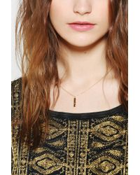 Urban Outfitters | Metallic Kris Nations Words To Live By Necklace | Lyst
