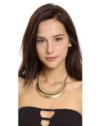Vanessa Mooney - Metallic Last Daylight Statement Necklace - Lyst